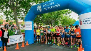 Éxito de participación en la quinta edición de la carrera popular de Pozuelo