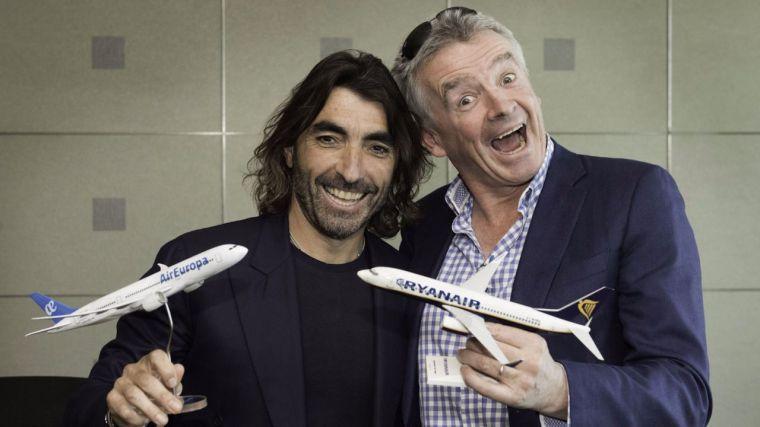 Air Europa se alía con Ryanair para los vuelos de largo radio