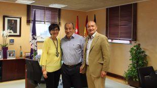 La alcaldesa recibe al yudoca Rafael Prado, subcampeón de Europa de Judo
