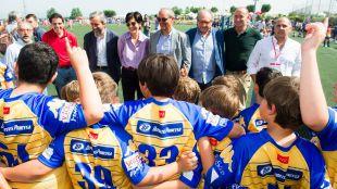 Más de 3.000 niños han participado en el Torneo Nacional de Escuelas de Rugby 2017 en Pozuelo