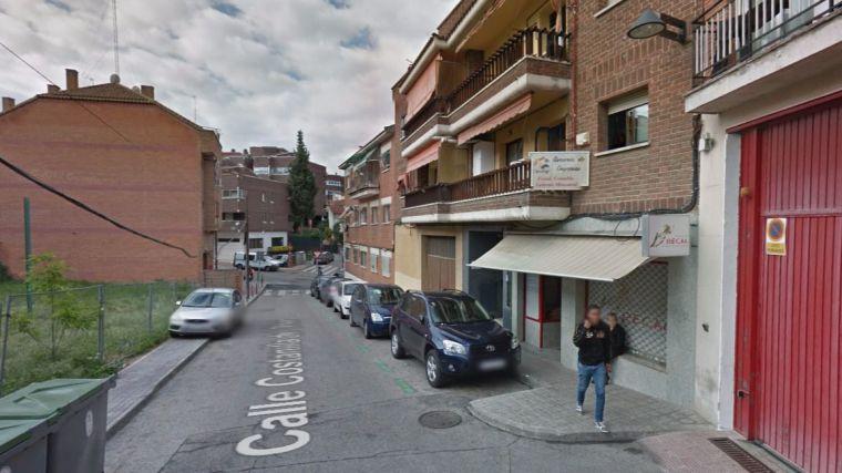 Corte de tráfico en la calle Constanilla del Olivar hasta el miércoles