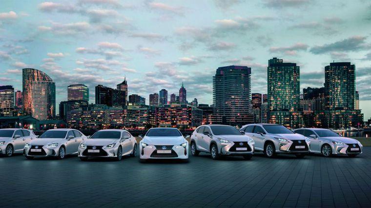 Más de 25.000 híbridos Lexus circulan por el territorio español