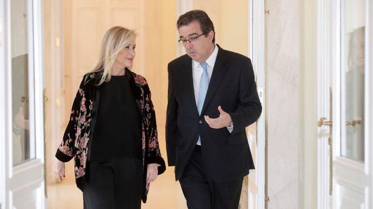 Cifuentes agradece a la Fundación Amancio Ortega la donación de 46,5 millones de euros