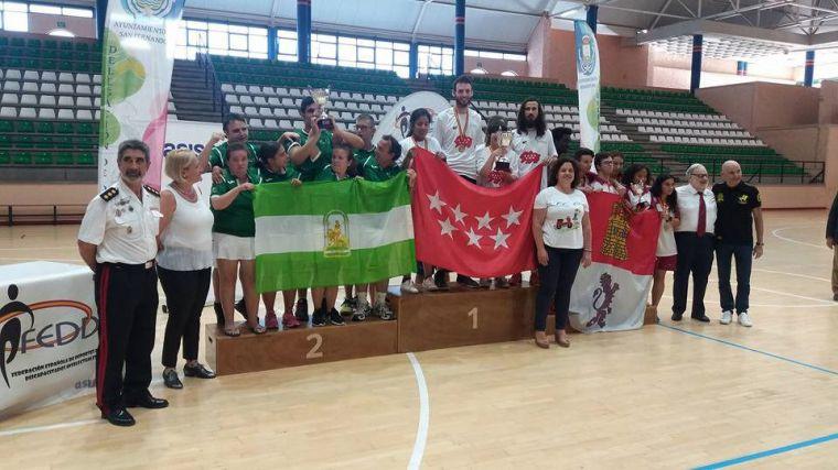 Los deportistas madrileños con discapacidad intelectual Campeones de España