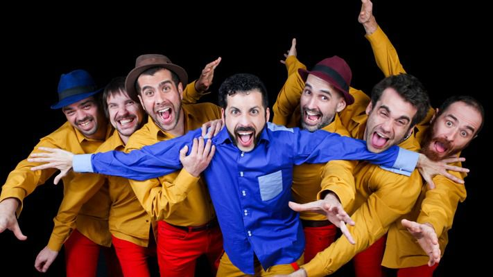 Música y clown en Pozuelo con Marabunta