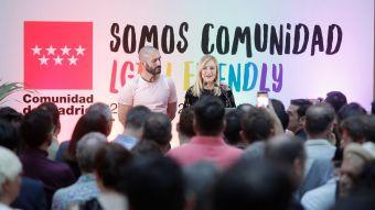 """Cifuentes: """"La Comunidad no solo vive en la igualdad y la diversidad, trabaja por ellas"""""""