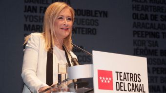 Cifuentes: 'La programación de los Teatros del Canal es un ejemplo de cultura abierta'