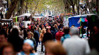 La Comunidad lidera la llegada de turistas extranjeros en 2017, con una subida del 19%