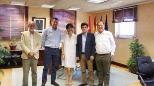 La alcaldesa se reúne con la nueva Asociación de Empresarios de Pozuelo de Alarcón ADEPA