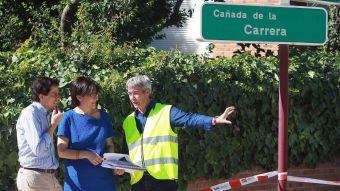 El Ayuntamiento acondiciona y pavimenta la Vereda de la Cañada de la Carrera en la urbanización La Cabaña