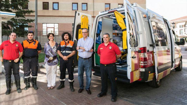 Nueva ambulancia con Soporte Vital Básico en el Servicio Municipal de Emergencias de Pozuelo