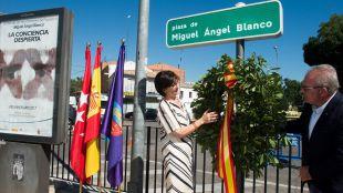 Pozuelo de Alarcón rinde homenaje a Miguel Ángel Blanco en el XX Aniversario de su secuestro y asesinato