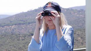 Cifuentes pide a los madrileños colaboración para detectar y prevenir incendios forestales