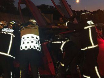 Accidente en Pozuelo de Alarcón deja cuatro heridos de 20 años, dos muy graves