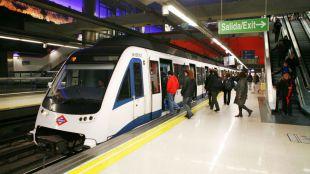 Aumenta un 10,29% el número de viajeros en el Metro en junio