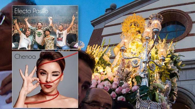 """Chenoa, Efecto Pasillo, el D´j """"El Pulpo"""" y Seguridad Social protagonistas de las fiestas de Pozuelo"""