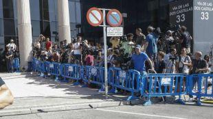Cristiano Ronaldo accede a los juzgados de Pozuelo por la puerta de atrás