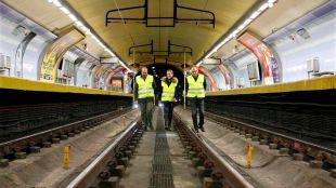 Reforzada la línea 1 de Metro durante el cierre de la estación de Cercanías de Sol