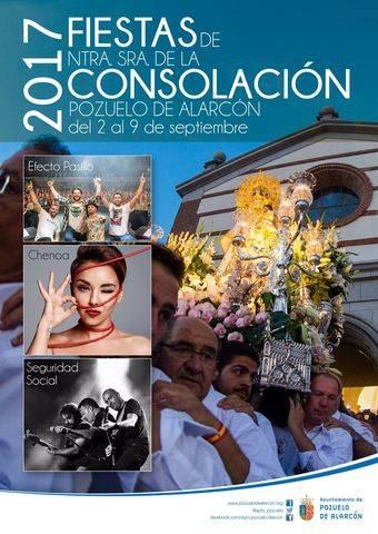 Programa de las Fiestas en honor a Ntra. Sra. de la Consolación 2017
