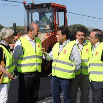 2,8 millones para la mejora del firme de la carretera M-505