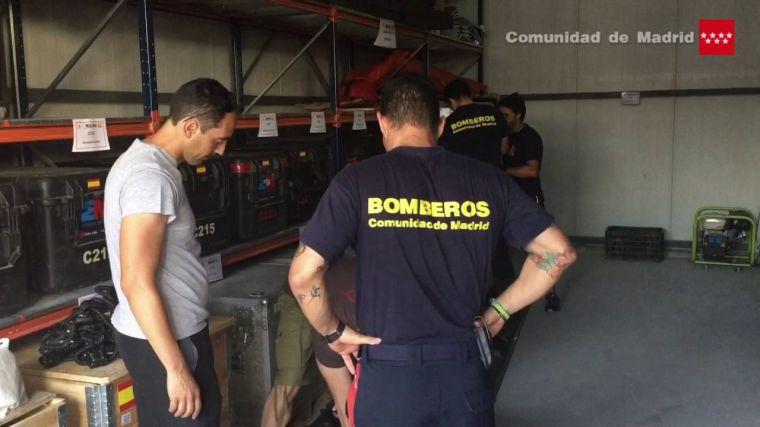 La Comunidad envía al ERICAM para trabajar en la extinción de los incendios de Portugal