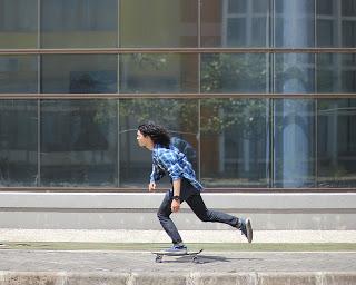 En patinete eléctrico te desplazas cómodo y seguro