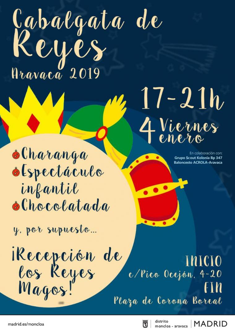 La Cabalgata de Reyes vuelve a Aravaca