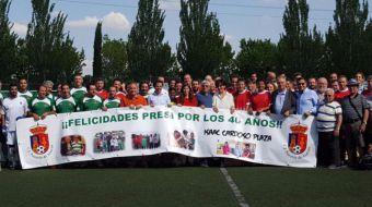 Arrancan las fiestas patronales con el pregón del presidente del C.F. Pozuelo, Isaac Cardoso