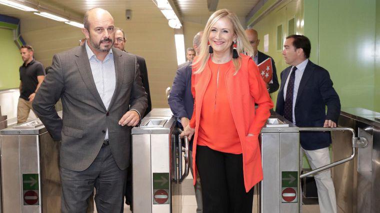 Cifuentes presenta las primeras estaciones de Metro remodeladas