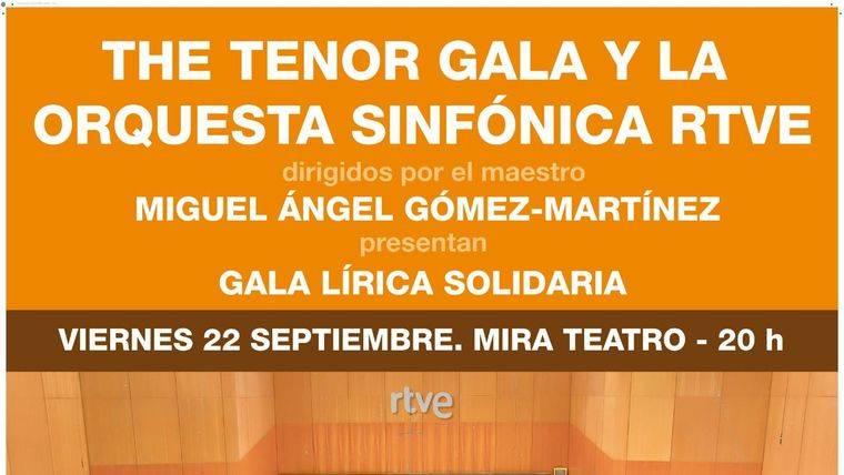 """El concierto benéfico """"The Tenor Gala"""" trae a Pozuelo las mejores voces de la lírica internacional y la Orquesta de RTVE"""