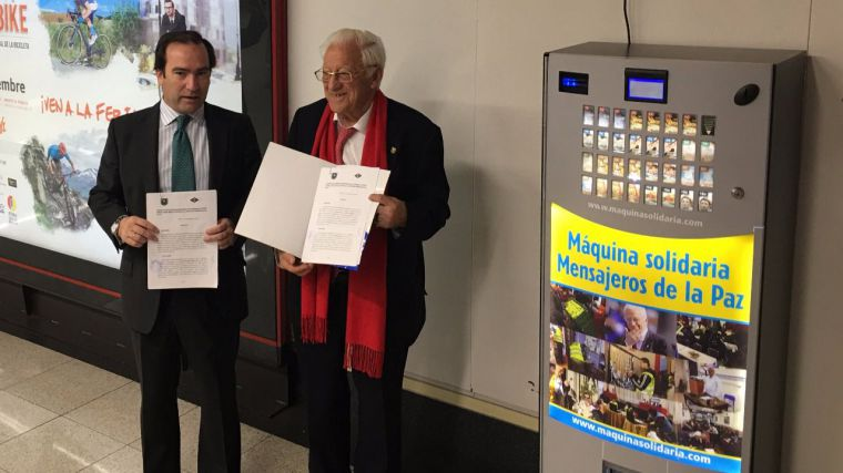 La Comunidad colabora con Mensajeros de la Paz en la recogida de alimentos en la red de Metro
