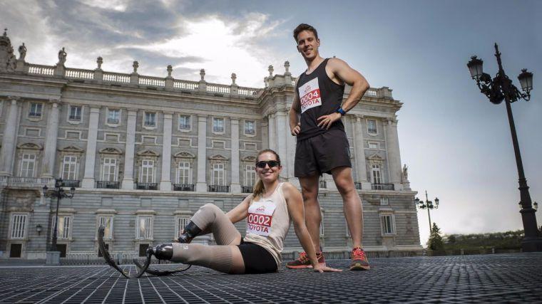Toyota cierra la Semana Europea de la Movilidad de Madrid con la I Milla Solidaria #RompeTusBarreras