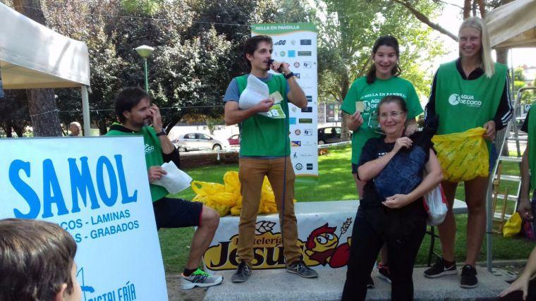 Record de participación en la Milla en Pandilla, carrera organizada por la ONG Agua de Coco