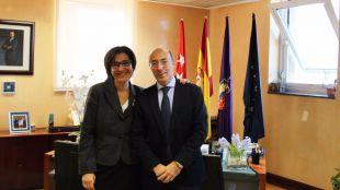 La alcaldesa se reúne con el nuevo el director general de Seguridad, Protección Civil y Formación de la Comunidad de Madrid