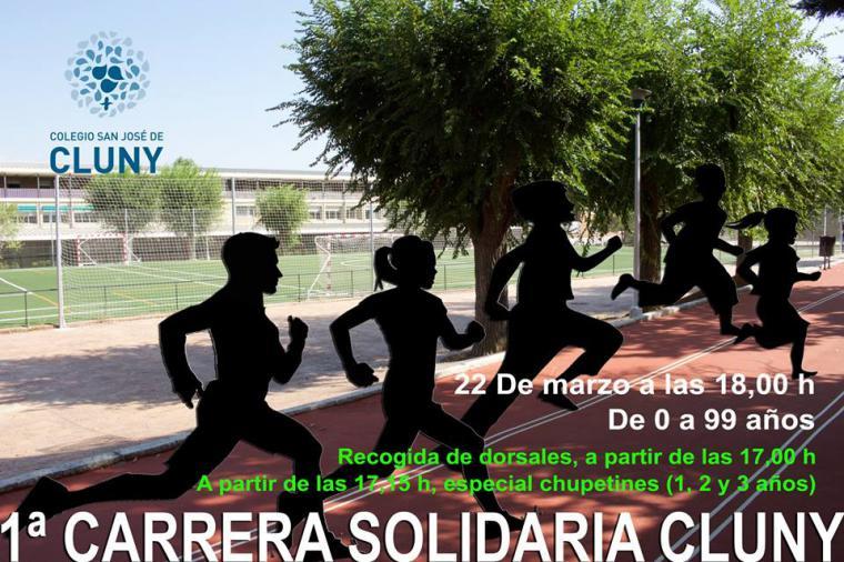 Hoy viernes 22 de marzo se celebra la I Carrera Solidaria