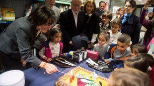 El Ayuntamiento de Pozuelo de Alarcón celebra el 20 cumpleaños de la Biblioteca Municipal Miguel de Cervantes