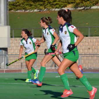Fin de semana duro para las chicas del Club Hockey Pozuelo
