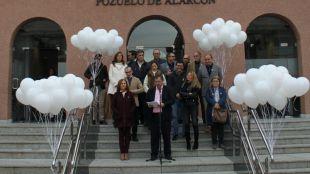 Pozuelo de Alarcón pone de manifiesto su rechazo a la violencia de género y apoyo a las víctimas con un minuto de silencio