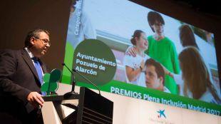 """El Ayuntamiento de Pozuelo de Alarcón galardonado con el premio """"Institución por la Inclusión"""" que otorga la entidad Plena Inclusión Madrid"""