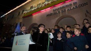 Pozuelo de Alarcón se viste de Navidad con el tradicional encendido de luces
