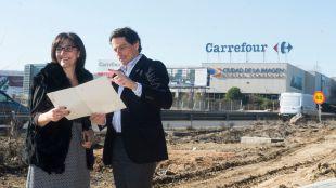 El Ayuntamiento de Pozuelo invierte medio millón de euros en un itinerario peatonal de más de 1.500 metros de aceras