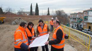 Las obras para la rehabilitación del céntrico Barrio de las Flores avanzan a buen ritmo