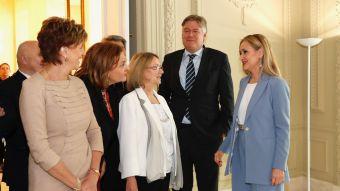 Cifuentes se reúne con europarlamentarios de la Comisión de Mercado Interior