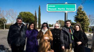 El Ayuntamiento dedica una de las principales glorietas de acceso a la ciudad al periodista Manuel Martin Ferrand