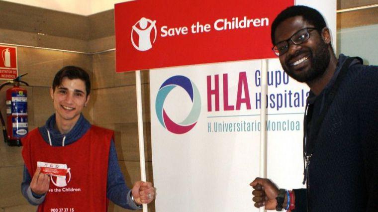 Save de Children se une a HLA Moncloa