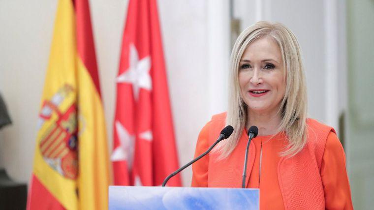 Cifuentes destaca que sus políticas reducen el déficit de la región en casi 1.800 millones de euros