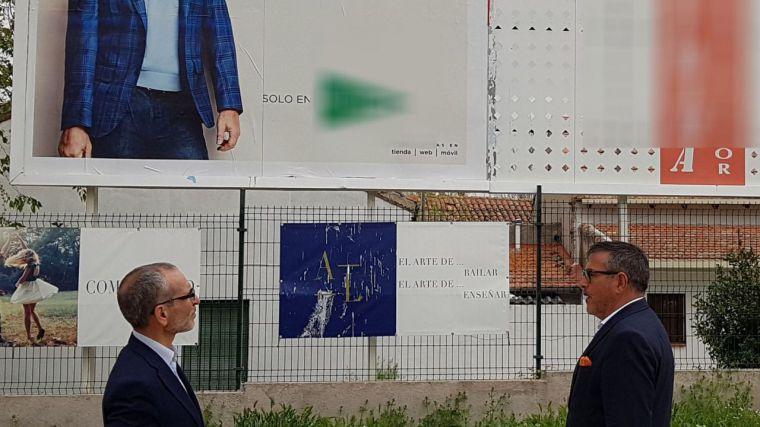 Ciudadanos (Cs) Pozuelo consigue sacar adelante su moción para la regulación de la publicidad exterior en el municipio