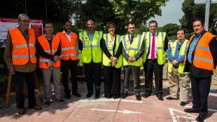Las obras de acondicionamiento en la calle Ancla de Pozuelo mejorarán la movilidad y alumbrado de esta importante vía de la ciudad