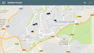 """Somos Pozuelo lanza """"GeoRats"""", una herramienta para ayudar a los vecinos a tramitar sus quejas sobre las ratas"""