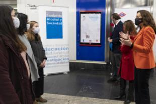 La Comunidad de Madrid pone en marcha una campaña de prevención del consumo de alcohol entre menores